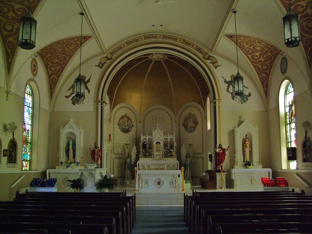 St. Remy Catholic Church, Russia, OH