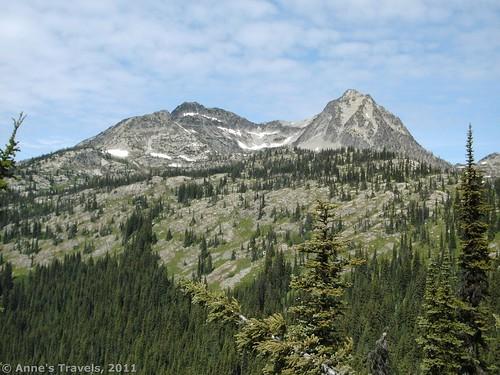 Peaks near Twisp Pass in North Cascades National Park, Washington