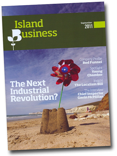 Island Business Magazine. Cover shot September 2011 | by s0ulsurfing