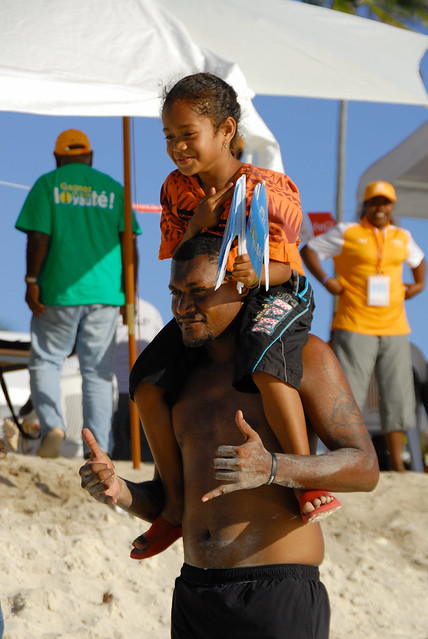 XIVème Jeux du Pacifique, PNG VS Vanuatu, beach-volley