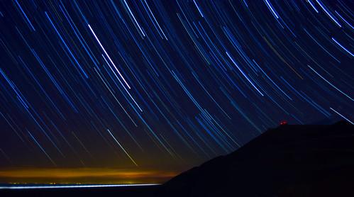 Dhermi Star trails | by Rilind Hoxha