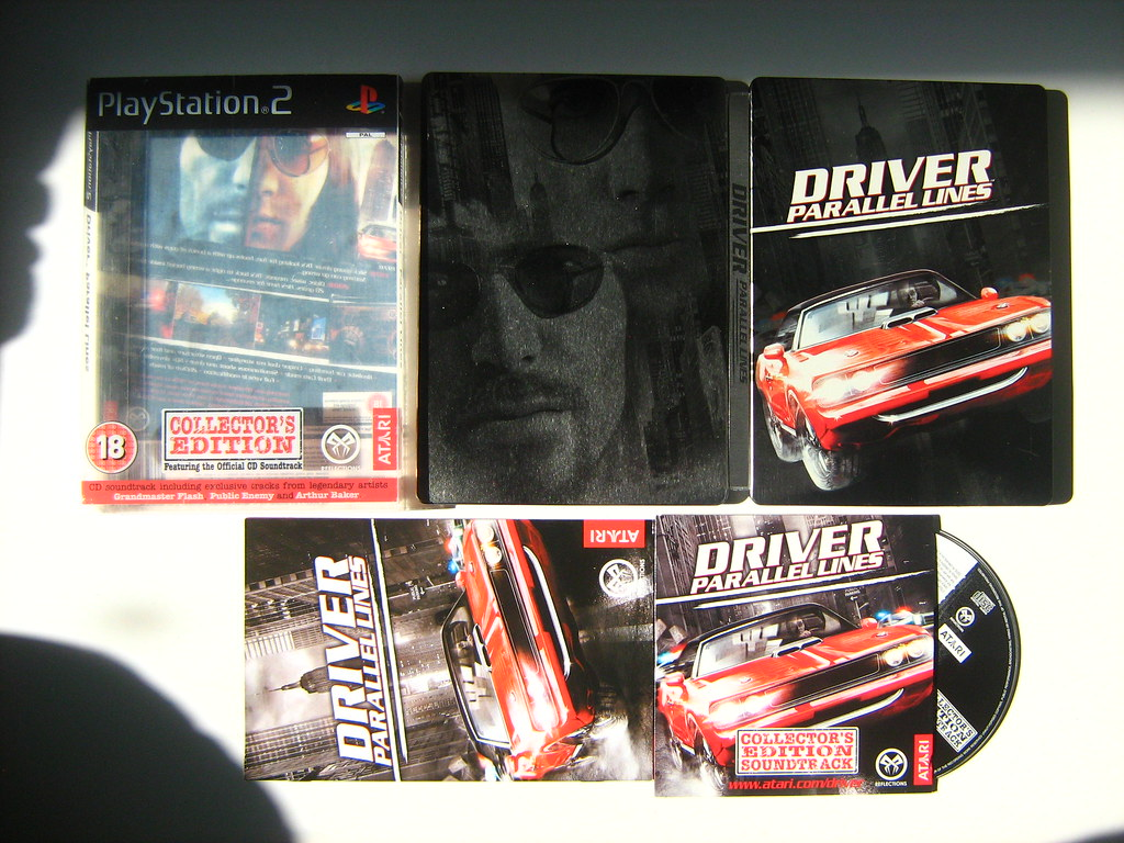 PlayStation PS2 Game Driver Parallel Lines Collector's Edi