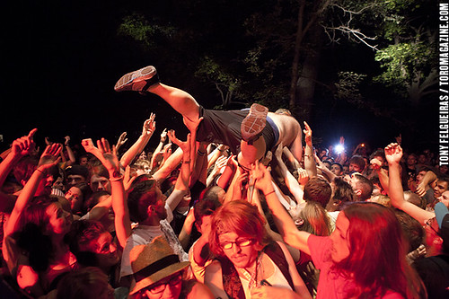 Osheaga 2011 - Fucked Up Crowd Surf | by TonyFelgueiras