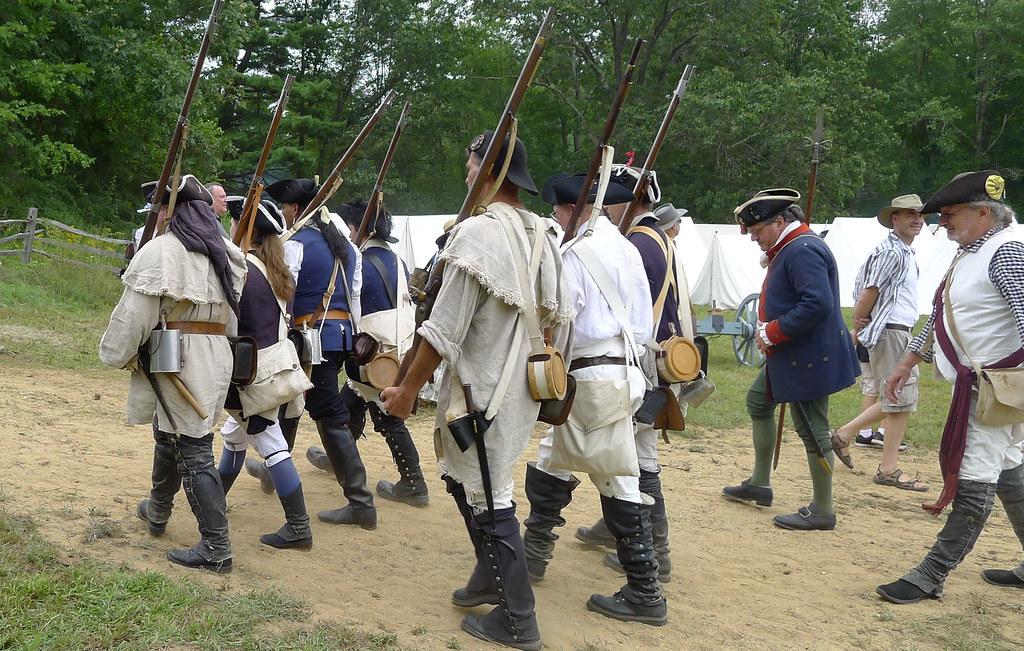 Redcoats & Rebels Revolutionary War Reenactment | New Englan