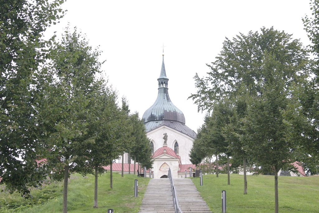 Pilgrimage Church of St John of Nepomuk at Zelená Hora