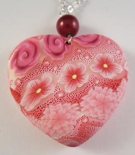 """""""34"""" Front of heart pendant"""