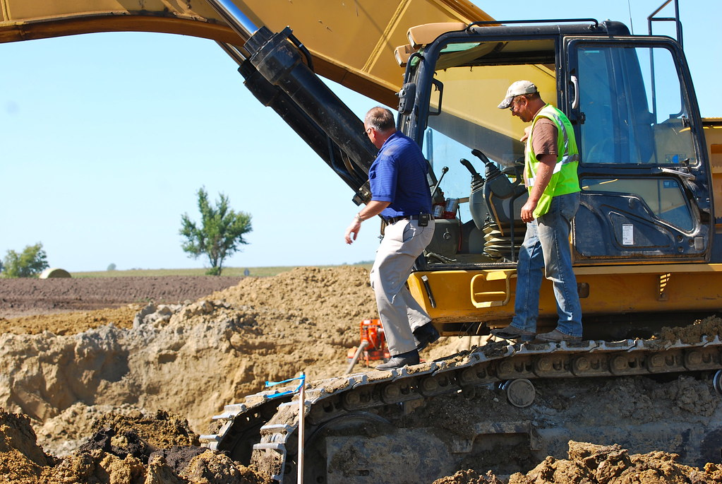 Congressman Steve King Tours Progress on New Highway 20