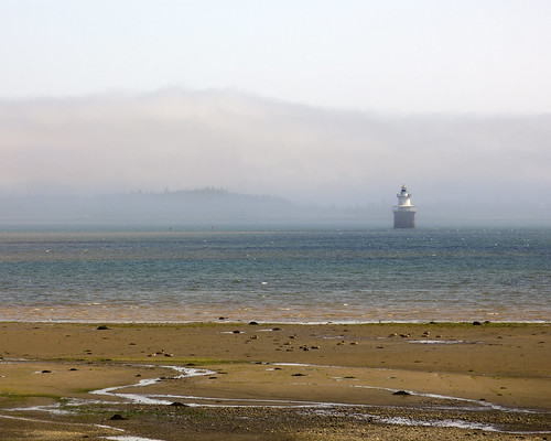 ocean light summer lighthouse house mist beach fog clouds coast sand maine down atlantic east shore channel downeast