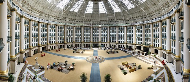 West Baden Springs Hotel - Panoramic Stitch