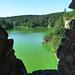 Zvíkov, výhled na zelené vody nádrže, foto: Petr Nejedlý