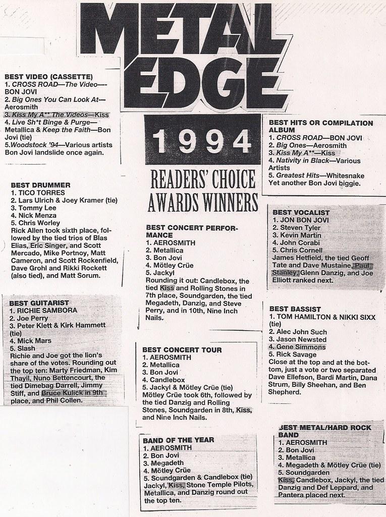 June 1995 Metal Edge Magazine (Kiss)0001   Bryan   Flickr