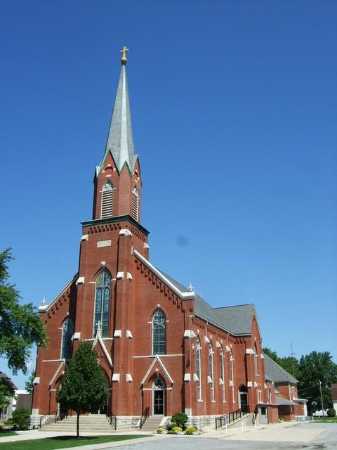St. Sebastian Catholic Church, Sebastian, OH
