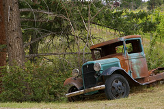 St. Hubertus Winery - Old Truck