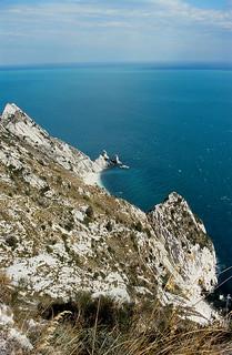 The Adriatic Sea near Monte Conero