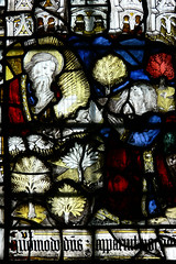 Sat, 05/21/2011 - 15:53 - Noah and Abraham window. St Anne's Chapel, Great Malvern Priory, Worcestershire 18/05/2011.