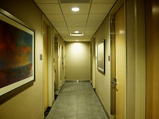 Corridor in the Shower Area | by bloompy