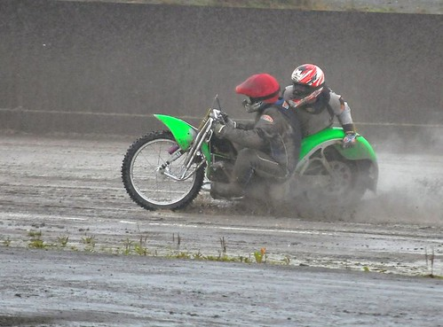 Wet track huh | by Sidecar rampage