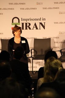 Diana Quick reading Nasrin Sotoudeh's letter | by Foreign, Commonwealth & Development Office