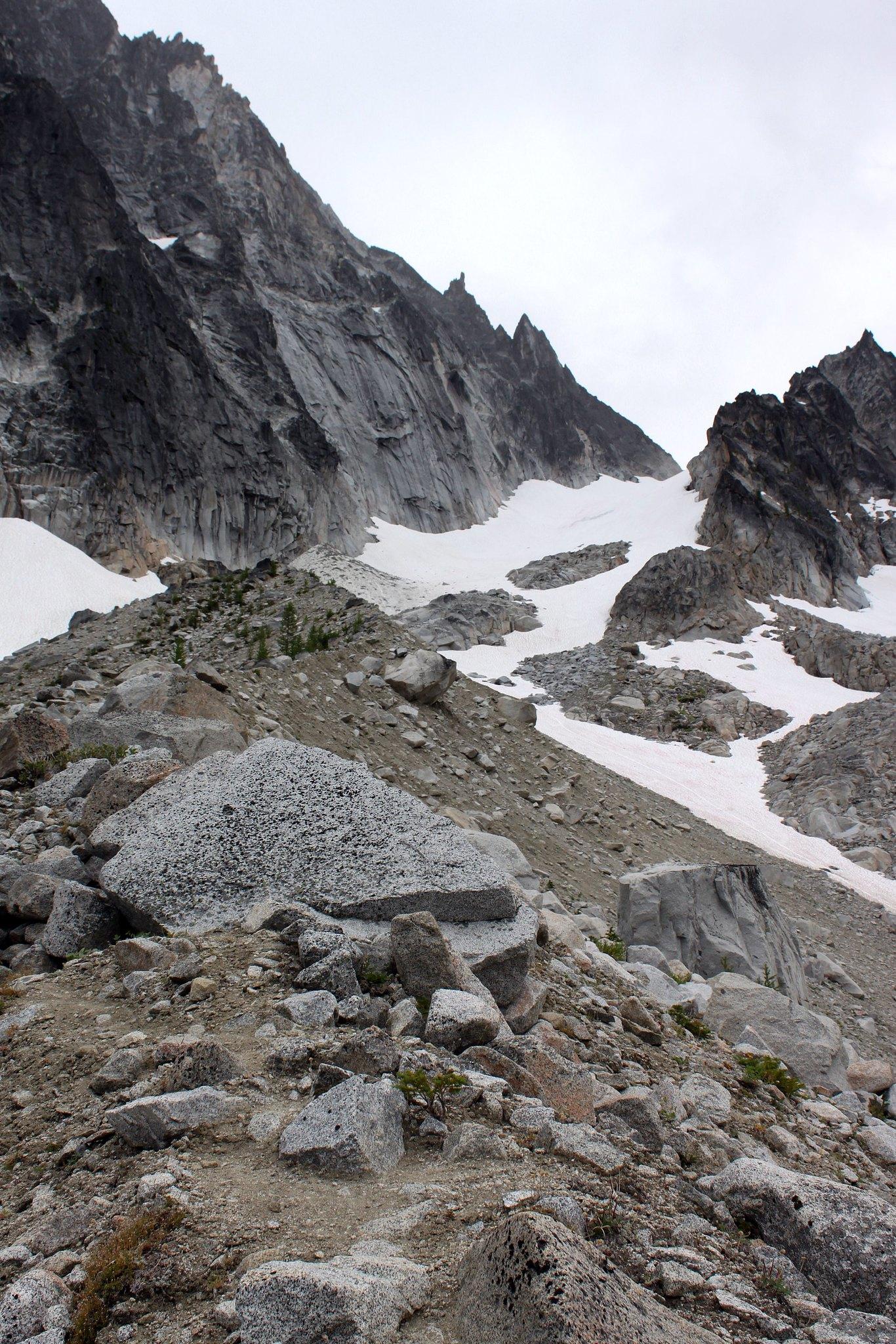 Colchuck Glacier ahead