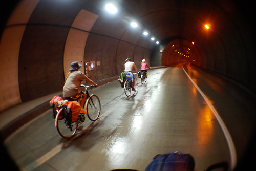 Cycling through tunnels on the Shakotan Peninsula, Hokkaido, Japan | by Robert Thomson