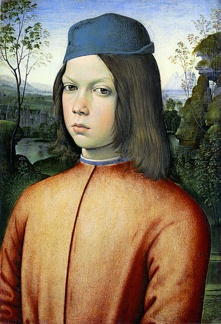 Andrea d'Assisi - Portrait of a boy