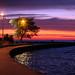 north avenue beach at sunrise.