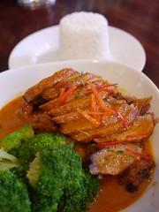 火, 2011-08-30 18:47 - 1/2 Duck Panang curry at I am Thai