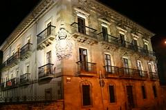 Ayuntamiento de Ermua iluminado