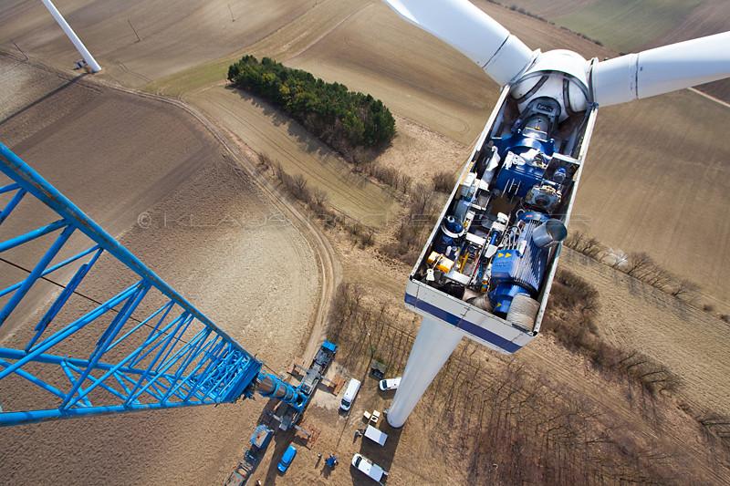 Windfarm Vestas Opened SimonsfeldAustriaFlickr V44 Nacelle At VpGULzMjqS