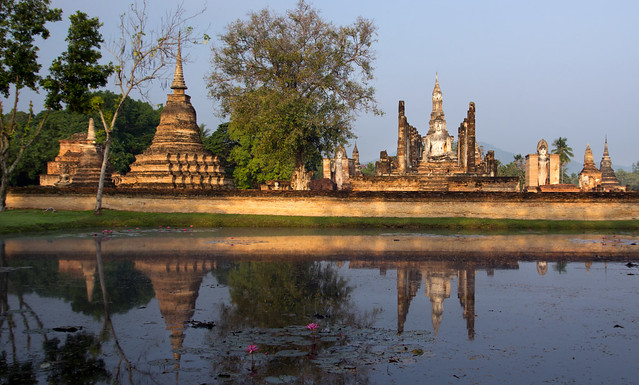 Sukhothai at dawn