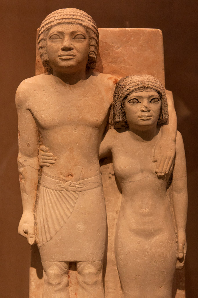 Old Kingdom, Dynasty 4, ca. 2575–2465 B.C. Egyptian; Probably from Giza  The Metropolitan Museum allows photo shooting providing there is no financial gain.  Please respect their policy