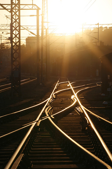 Kuopio railway station - backlight (5)