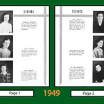 Hansen Eagle Yearbook 1949 page1 and 2