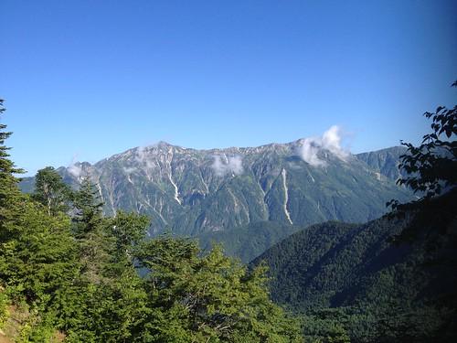西穂高岳 西穂高口ルート 笠ヶ岳   by ichitakabridge