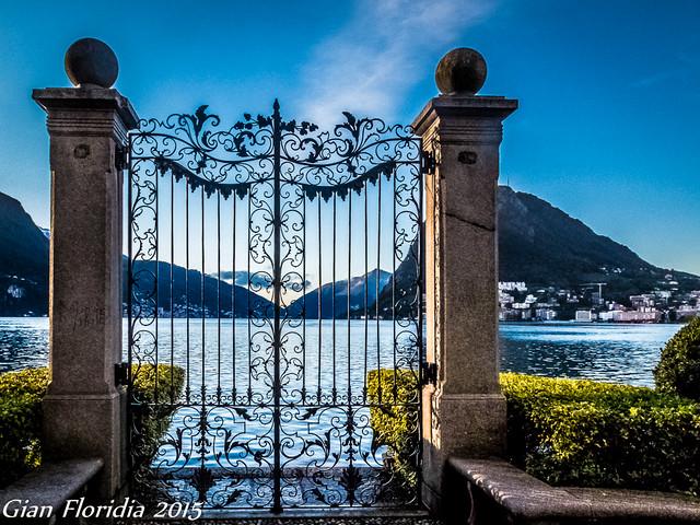 Un cancello, mille ricordi, mille sogni...
