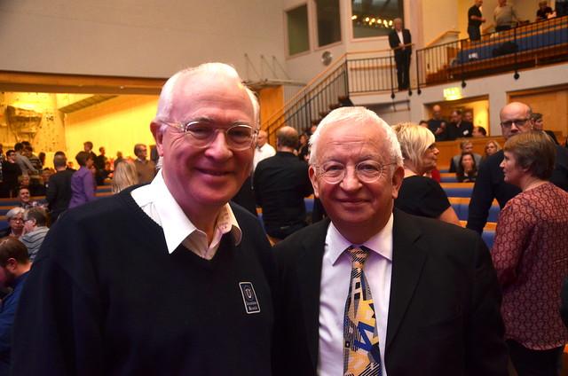 Mr Hanson and Mr Gregson
