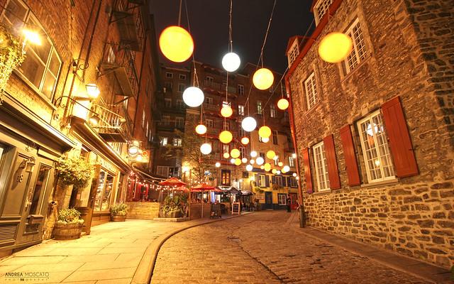 Rue du Cul de Sac - Québec City (Québec, Canada)