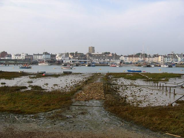 Shoreham from Shoreham Harbour