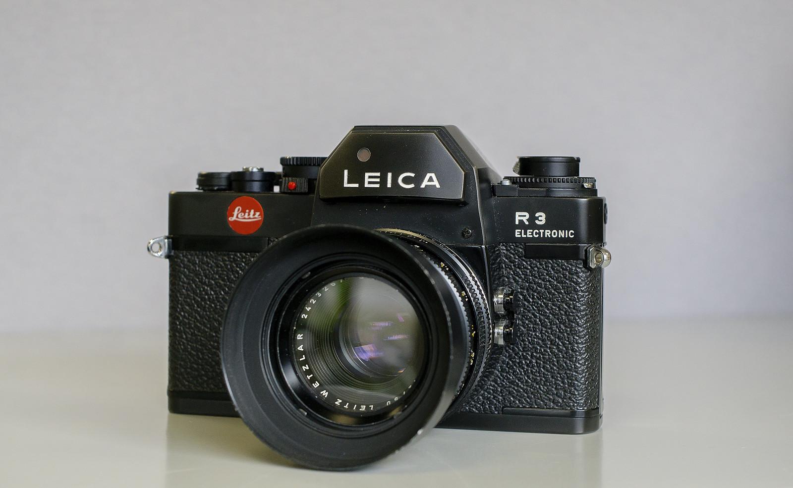 Camera Review Blog No. 56 - Ernst Leitz Leica R3 Electronic