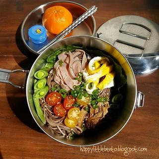 Soba Salad Bento | by sherimiya ♥