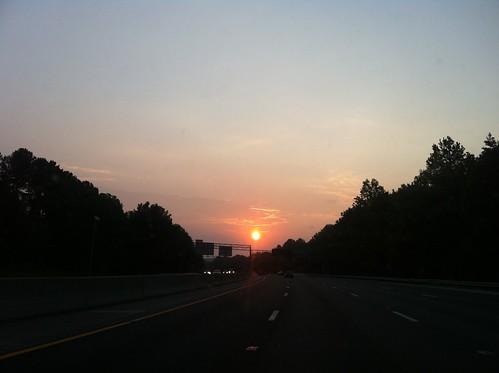 sky sun clouds sunrise nc su