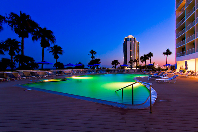 Pool Time - The Galvestonian - Galveston, Texas