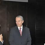 Fri, 07/22/2011 - 10:35 - Richard D. Downie, CHDS (izquierda), Oscar Izurieta Ferrer, Subsecretario de la Defensa Nacional de Chile (centro), Werther Araya Menghini, ANEPE (derecha).