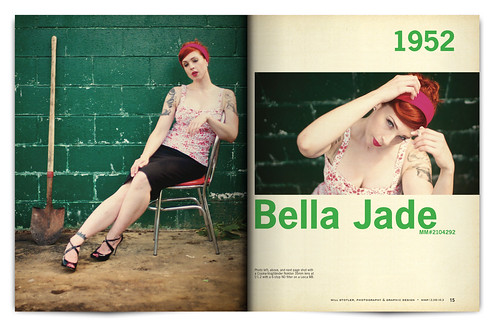 Vintage Magazine Spread Design Project - Pgs. 14 & 15 | by willstotler