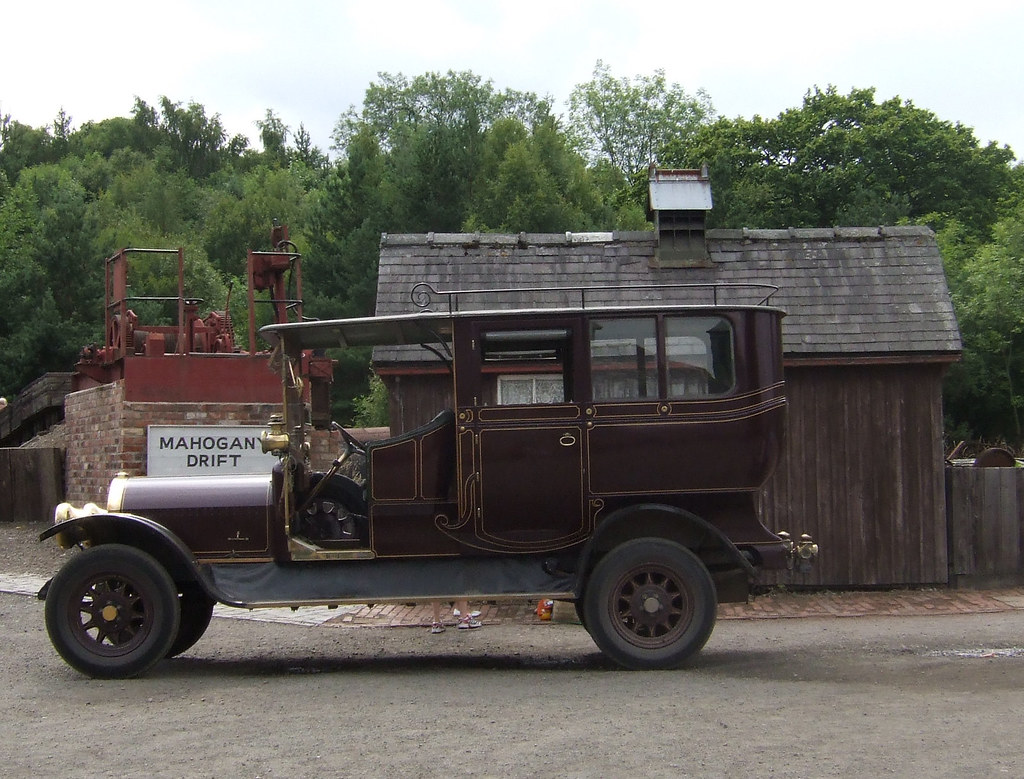Old car in Beamish Open Air Museum