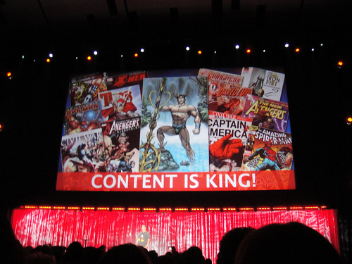 D23 Expo 2011 - Marvel panel - Content is King! | by Doug Kline