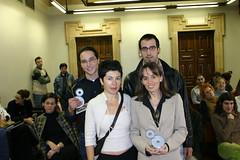 Jornadas referentes al área de promoción y empleo las cuales han sido presididas por Rosalía Herrera y el teniente alcalde Felix Prol en el salón de plenos del ayuntamiento.