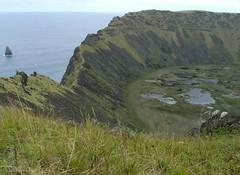ma, 04/06/2007 - 10:59 - 182a. wandeling op rand van krater Ranu Kau