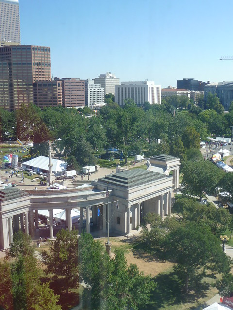 Civic Center Park from DAM
