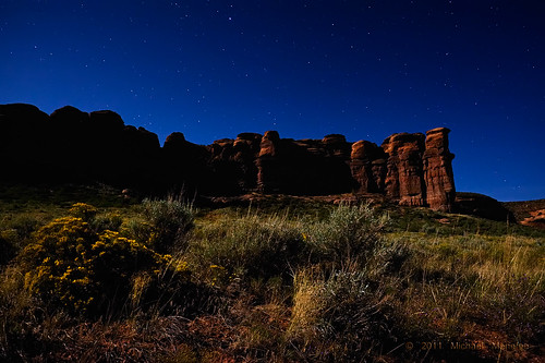 red chimney sky nature rock night landscape nikon colorado rocks nightscape border cliffs moonlit camel moonlight wyoming formations clff d700